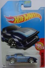 2017 Hot Wheels THEN AND NOW 4/10 Mazda RX-7 337/365 (Blue Version)