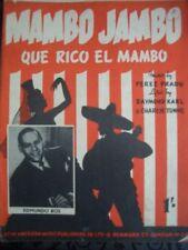 Mambo Latin Sheet Music & Song Books