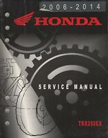 2006-2014 HONDA ATV TRX250EX SERVICE MANUAL (607)