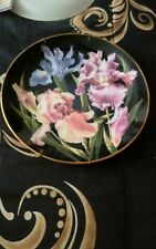 Collectable Plate Danburry Mint Iris