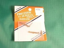 Precision Scale Co. O scale #4036 Levers, brake, w/clevis, freight car