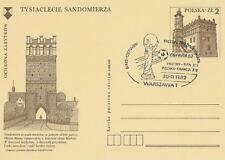 Poland postmark WARSZAWA - sport football FIFA World Cup