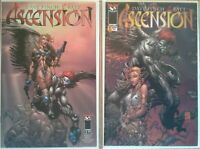 """Ascension"" complete unread 1st print David Finch series w/ additional issues"