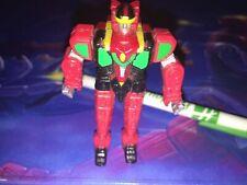 Micro Machines Mighty Morphing Power Rangers Red Dragonzord Warrior RARE!!!