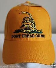 Ball Hat Rebel Cap Gadsden Confederate Don't Tread On Me Mens Dixie Heritage