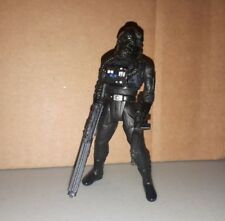 Star Wars Imperial Tie Fighter Pilot 1995 POTF figure loose with weapon