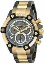New Mens Invicta 12984 Reserve Chronograph Two Tone Bracelet Watch