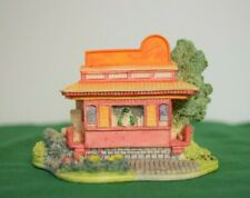 """Lilliput Lane Coca-Cola Country """"The Lunch Line"""" Trolley L2069 Mib with Coa."""
