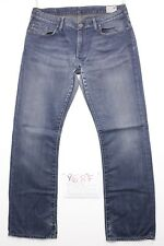 G-Star Correct Woman (Cod. Y687) Tg.47 W33 L32 Jeans Used High Waist Vintage