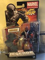 """6"""" Hasbro Marvel Legends 2012 Epic Heroes Deadpool Red Variant New In Hand"""
