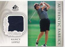 2004 UD SP SIGNATURE GOLF NANCY LOPEZ FABRICS EVENT SHIRT