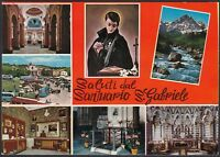 AA5630 Teramo - Provincia - Saluti dal Santuario San Gabriele - Vedute