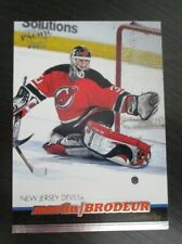 MARTIN BRODEUR New Jersey DEVILS 2000 PACIFIC HOCKEY CARD # SAMPLE