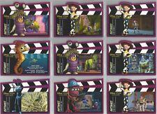 "Disney Pixar Treasures - ""Outakes"" Set of 10 Cards #DPT151-160"