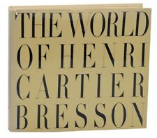 THE WORLD OF HENRI CARTIER-BRESSON / First Edition 1968 #161315