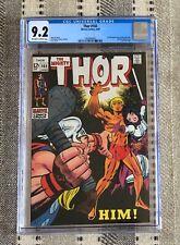 Thor 165 CGC 9.2 1st app. Warlock (Him)