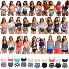 Women swimwear One-Piece/High Waist Bikini Set Push Up Swimsuit Plus size 2019