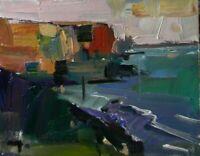 JOSE TRUJILLO HEAVY TEXTURE IMPASTO OIL PAINTING 8X10 Impressionism MODERN SEA