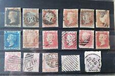 Briefmarken großbritannien ink. 1841 Penny Black, 4 borders.