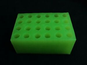 Silicone suppository mould (SMALL) - reusable, sterilized,eco friendly, 24 X 2ml