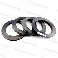 4x Set Felgen Zentrierringe 79,6 mm auf 57,1 mm breite 6 mm Zentrierungsringe