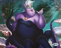 Pat Carroll The Little Mermaid Ursula Voice Rare Signed Autograph Photo BAS COA