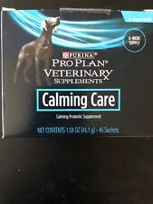 Purina Pro Plan Veterinary Calming Care Supplement - 45 Count