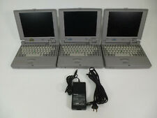 3x Vintage Toshiba Portege 610CT Laptop Computers PA1123U XT - Parts / Repair