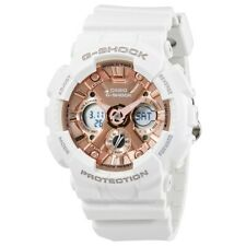 CASIO G-SHOCK GMAS120MF-7A2 * Men's White Resin Watch 200M * 4 Daily Alarm