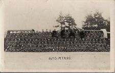 WW1 soldier group with equipment 10th Bridging Train 647 Company ASC Godalming