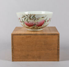 19th Chinese Antique Famille Rose Porcelain Bowl