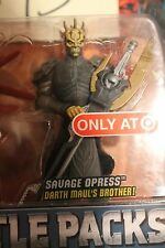 ARMORED  Savage Opress armor Darth Maul Return Star Wars Battle Pack TARGET 2012