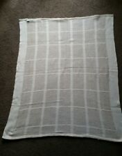 Cream Coloured Cotton Cot Blanket