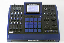 Akai MPC 5000, Black & BMW Metallic Blue &  Maxed out, 16squarez Custom!