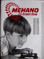 Istruzioni MEHANO Train Line ARt.T356-61-62-63 ... Multilingue - Tr.12