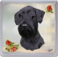 Giant Schnauzer Dog Coaster No 1 by Starprint
