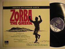 ZORBA THE GREEK SOUNDTRACK - O.S.T. - LP - FONTANA REC