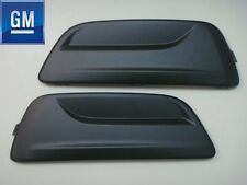 CHEVY MALIBU 2013 2014 FRONT BUMPER INSERT FOG LIGHT LAMP HOLE COVERS SET