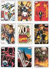 2010 MARVEL 70TH ANNIVERSARY COMIC TRADING CARD SET + TRIBUTE CHASE SET, XMEN