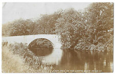 Bow Brig On The Lossie RP PPC, Elgin 1905 PMK to Mantach, Netherby Hall, Longton