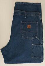 Carhartt Mens Jeans B13 DST Carpenter Dungaree Fit Size 44x32 EUC