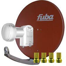 FUBA Opticum Sat Anlage 2 Teilnehmer DIGITAL DAA 850 R Twin LNB FULL HD 3D NEU !