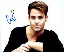 Chris Pine autographed 8x10 Photo signed Picture pic and COA
