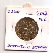 Polonia  Polska  2 Zloty Commemorativo 2007 Dobrowolski Arctowski  FDC