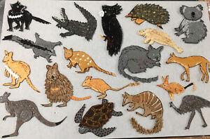 FELT BOARD/ STORY RHYME.  AUSTRALIAN ANIMALS CUSTOM REALISTIC