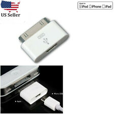 Micro USB Female to 30pin Male Charger Adapter For iPad 1 2/iPod/iPhone 4 4S