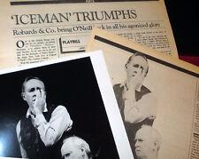 'THE ICEMAN COMETH' Vintage Glossy 8x10, Jason Robards, Hughes Memorabilia