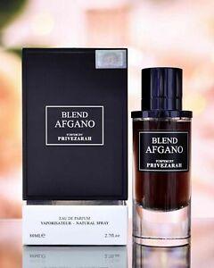 Men's Perfume BLEND AFGANO EDP Fragrance 80ml PARIS CORNER PERFUMES