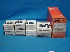 1975 - 83 Ford 200 Main Bearing Set 010 7 mains Mustang Granada LTD Half Grooved