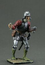 Toy tin soldiers 54 mm.Swiss shooter from the hand, 15th century